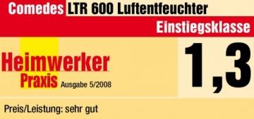 Comedes LTR 600 Luftentfeuchter, Bautrockner (bis zu 30l/Tag) - 4